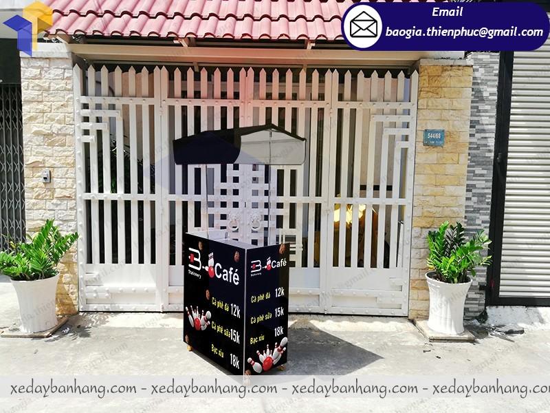 booth bán cafe lắp ráp giá rẻ