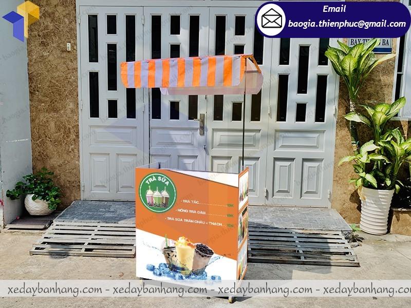 booth lắp ráp bán trà sữa mang đi giá rẻ