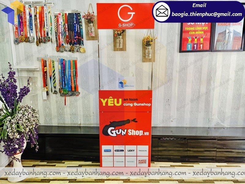 báo giá booth trưng bày mini giá rẻ