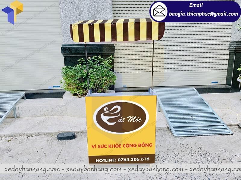 xe lắp ráp bán cafe sạch