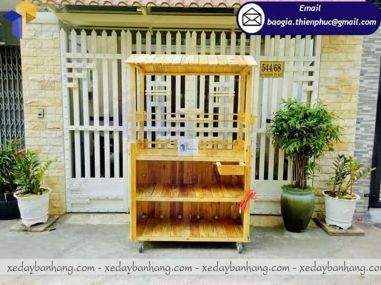 báo giá tủ bán cam ép bằng gỗ