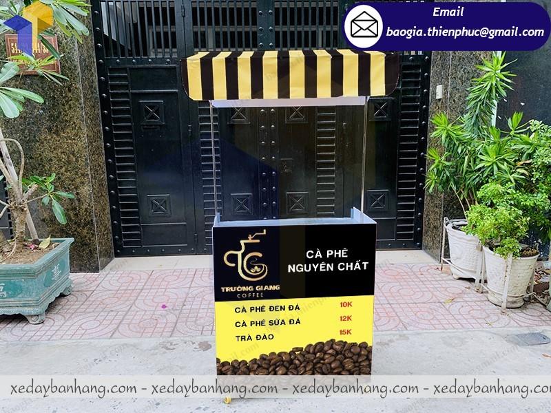 xe lắp ráp bán cafe đen