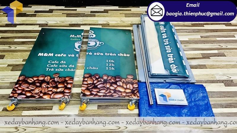báo giá xe lắp ráp bán cà phê mang đi