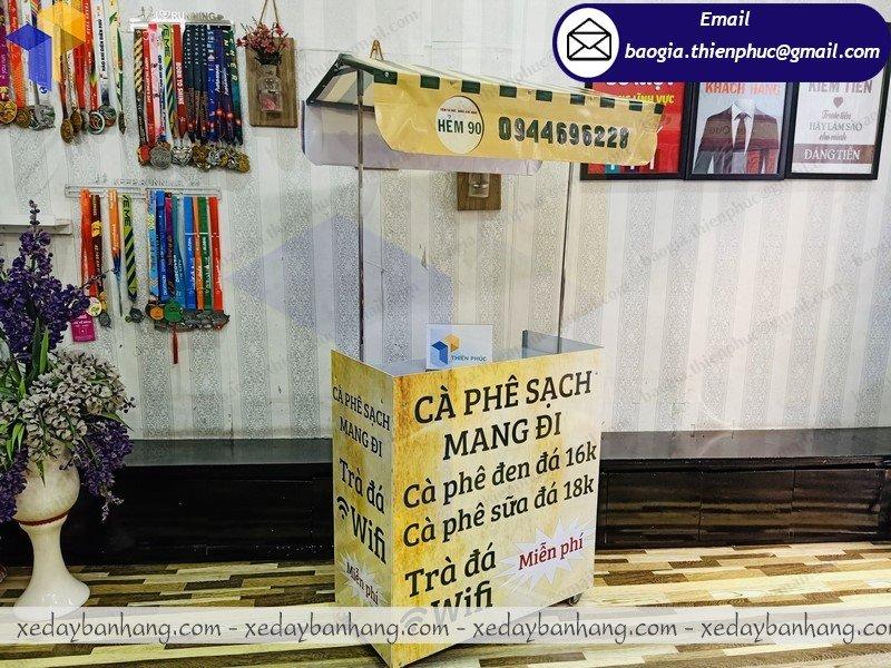 báo giá xe lắp ráp bán cafe