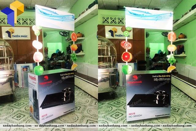 Booth bán hàng mini quảng cáo giá rẻ
