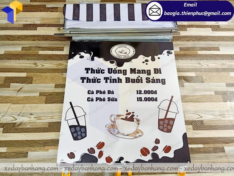 booth lắp ráp cafe take away giá rẻ ở tây ninh