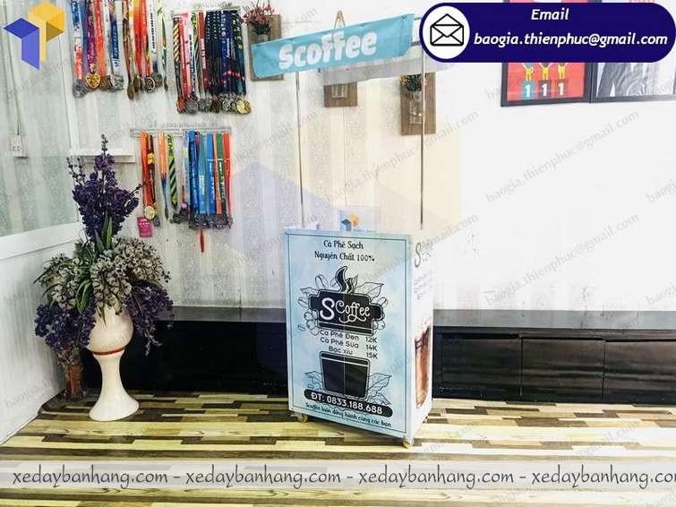 booth lắp ráp bán cà phê giá bao nhiêu