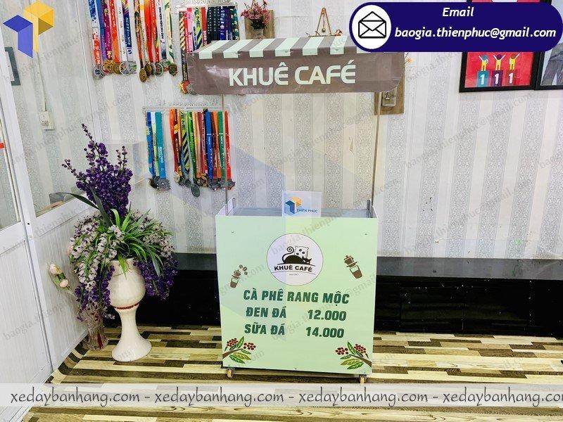booth lắp ráp bán cafe rang mộc