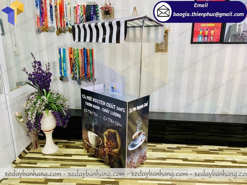 booth lắp ráp bán cafe nguyên chất giá rẻ