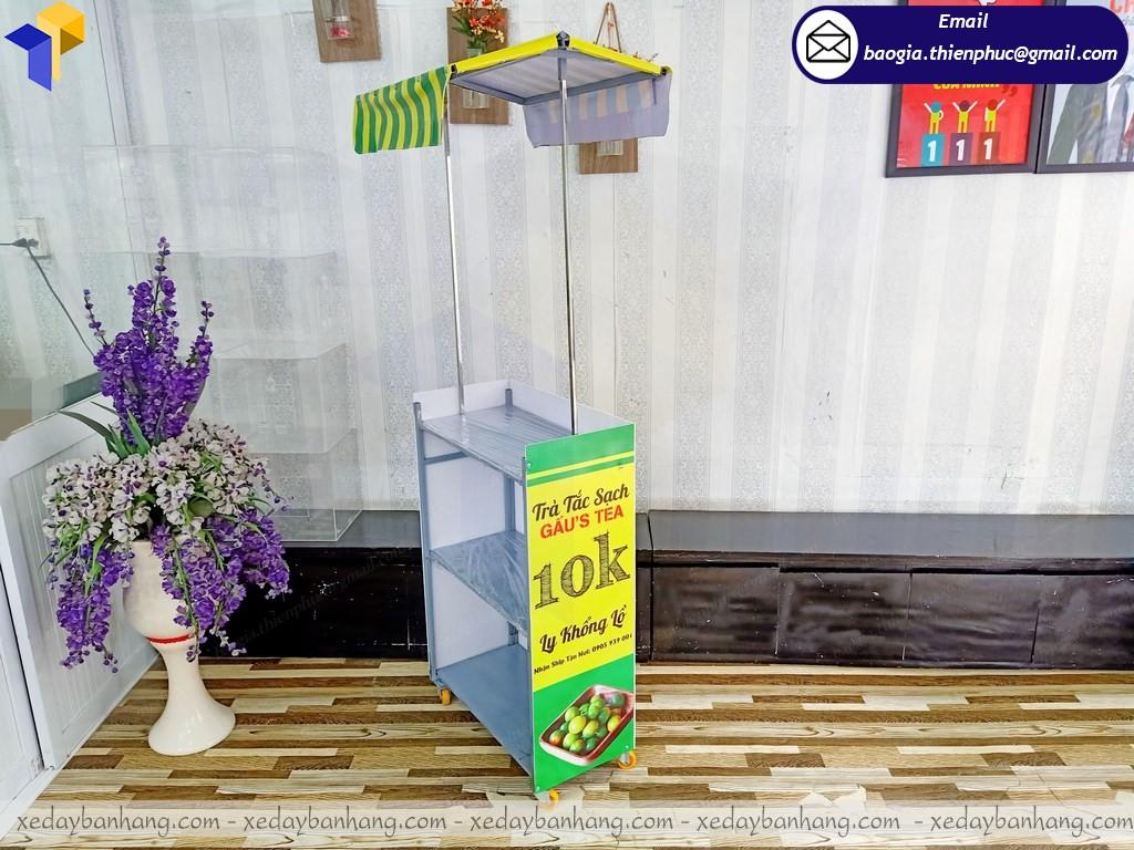 Thiết kế booth lắp ráp trưng bày quảng cáo ở nha trang
