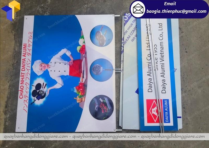 Booth bán hàng quảng cáo  nha trang