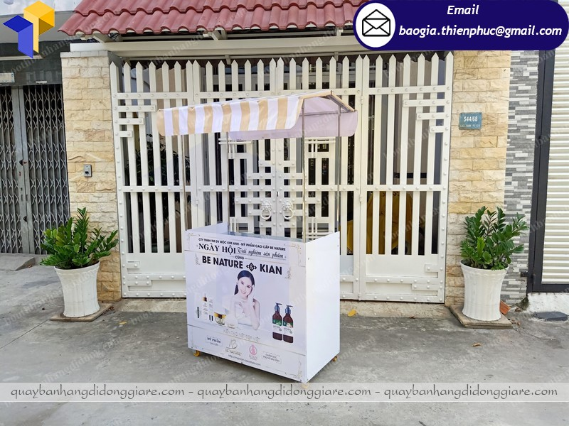 Booth sampling bán hàng lắp ráp tại nha trang