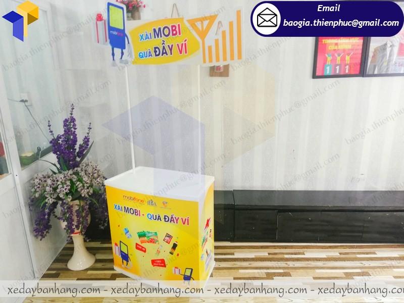 Booth bán hàng mini ở nha trang