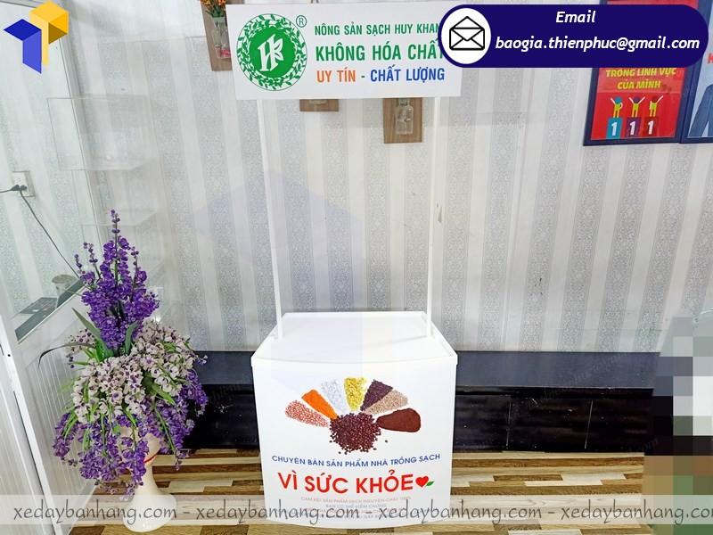 booth nhựa bán hàng lắp ráp hcm