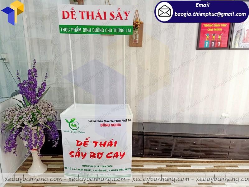 booth nhựa bán hàng ở đà nẵng