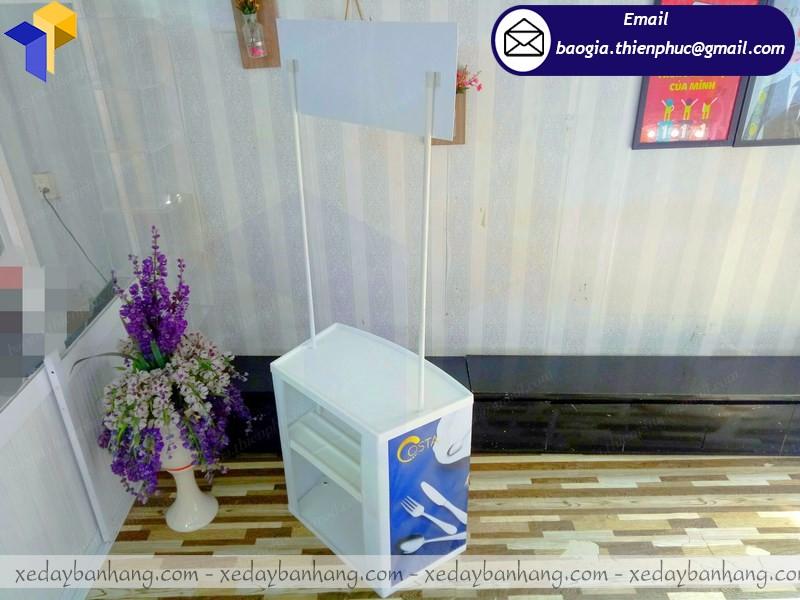 booth nhựa siêu thị lắp ráp tây ninh