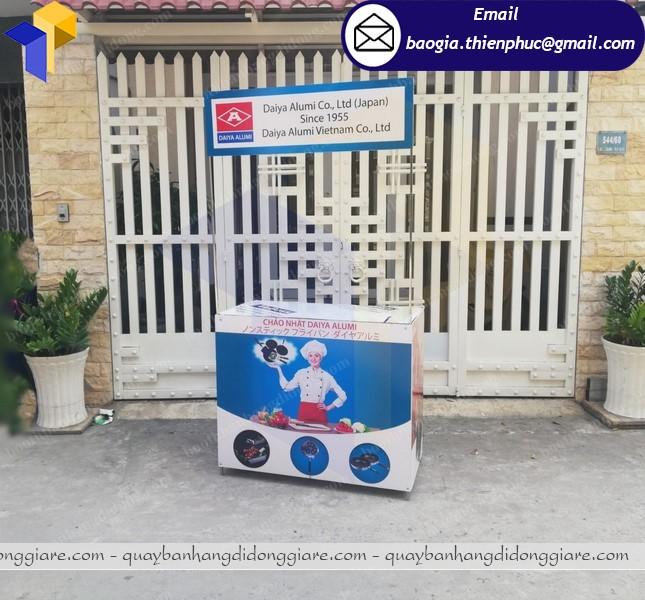 Booth bán hàng quảng cáo tại phú quốc