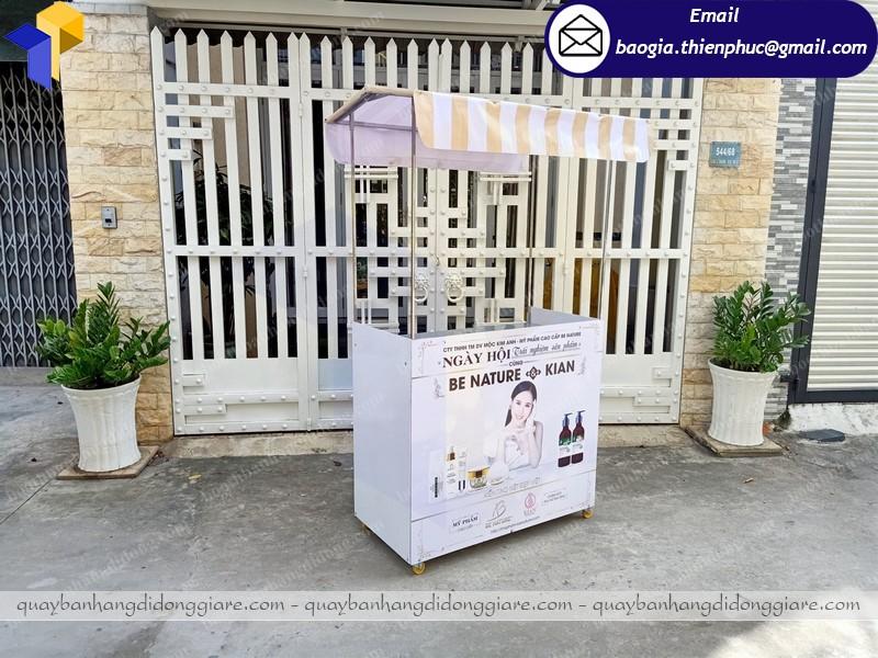 Booth sampling bán hàng lắp ráp tại phú quốc