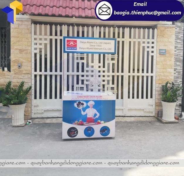 Booth bán hàng quảng cáo  tại hcm