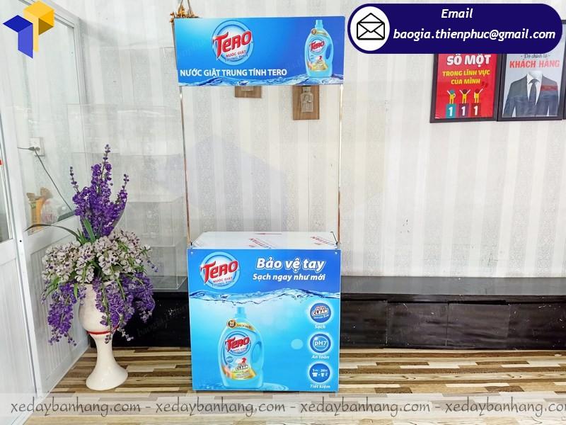 Booth sampling bán hàng ở hcm