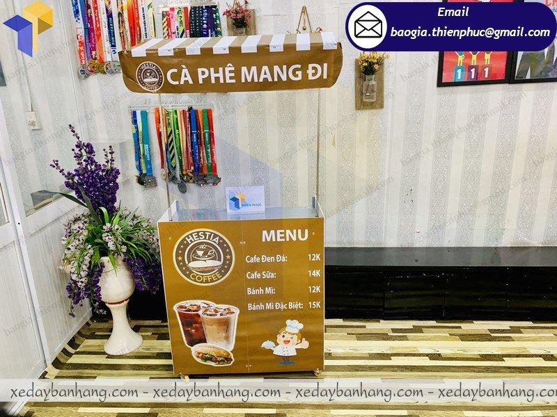 booth bán cà phê mang đi lắp ráp giá rẻ