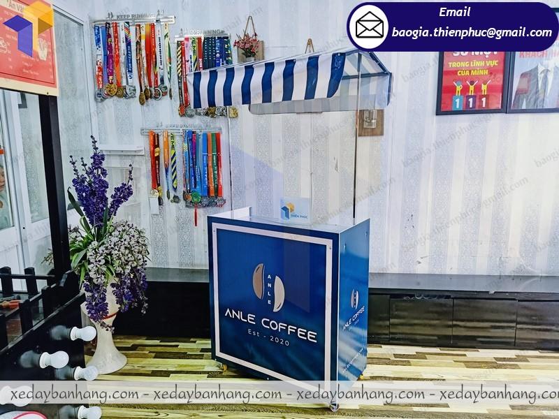 thiết kế xe lắp ráp bán cafe theo yêu cầu