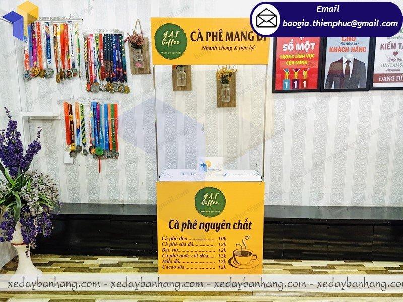 địa chỉ bán booth bán cafe mang đi giá rẻ