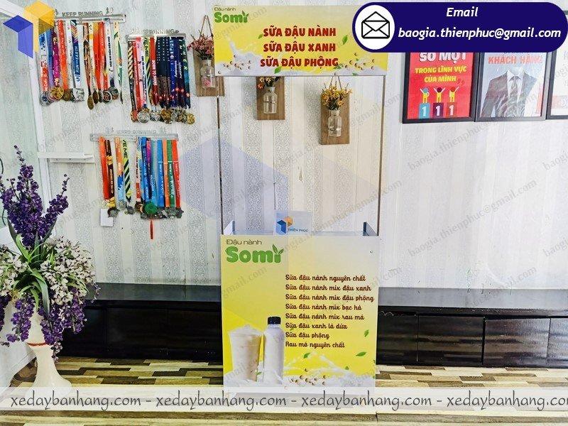 địa chỉ bán booth bán sữa di động