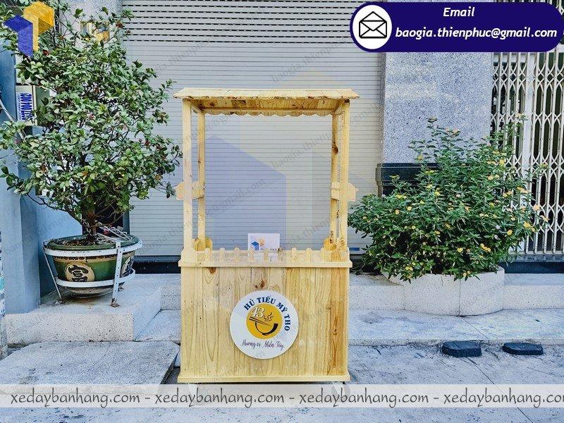 địa chỉ đóng  xe hủ tiếu bằng gỗ pallet
