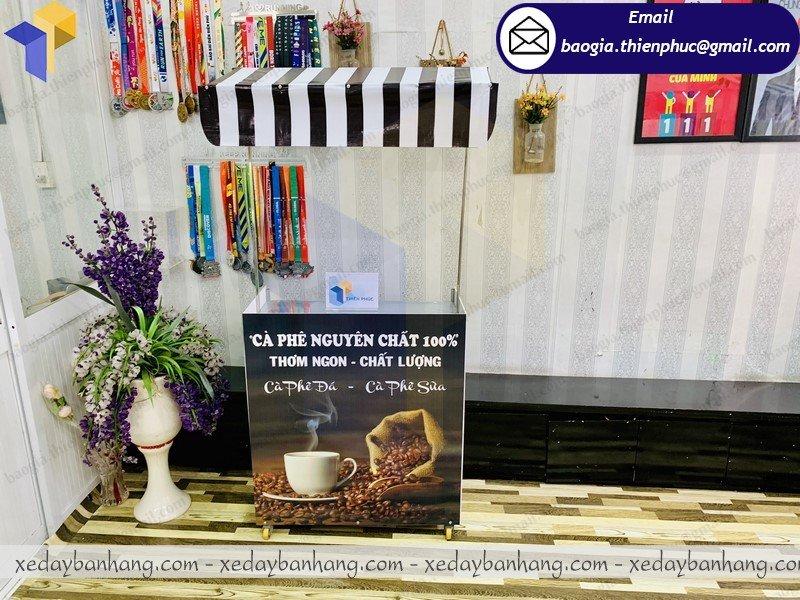 booth lắp ráp bán cafe nguyên chất