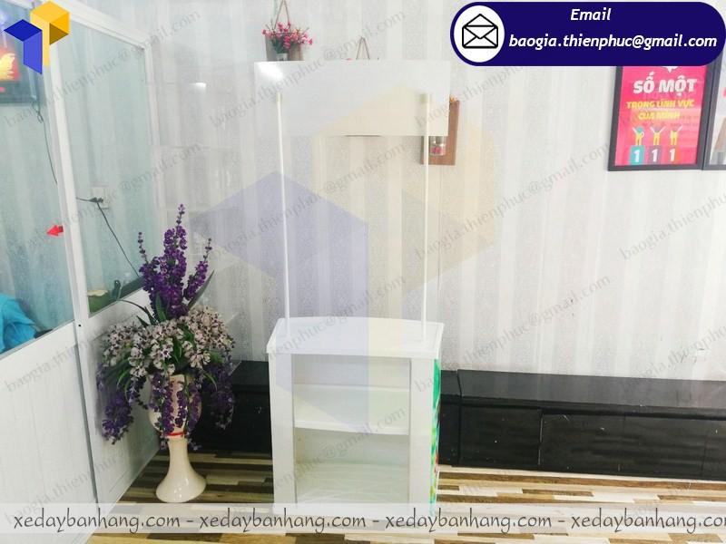 Mua booth nhựa ở phú quốc