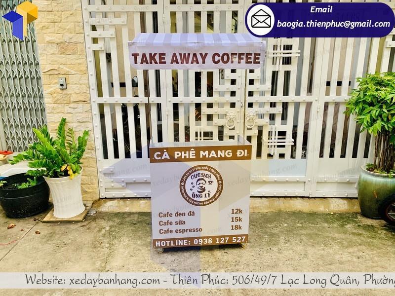xe lắp ráp bán cafe take away khuyến mãi ở đà nẵng