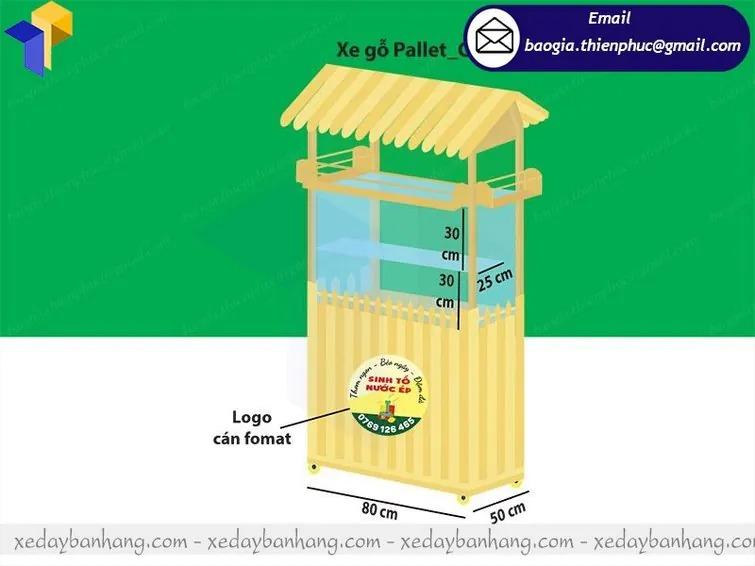 giá tủ gỗ bán sinh tố di động
