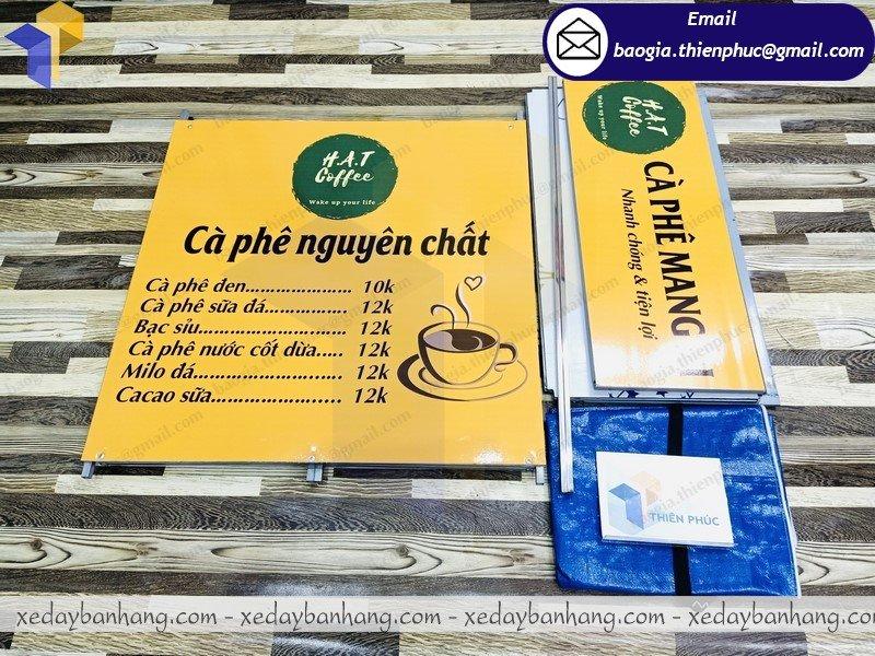 hình ảnh booth bán cafe mang đi giá rẻ