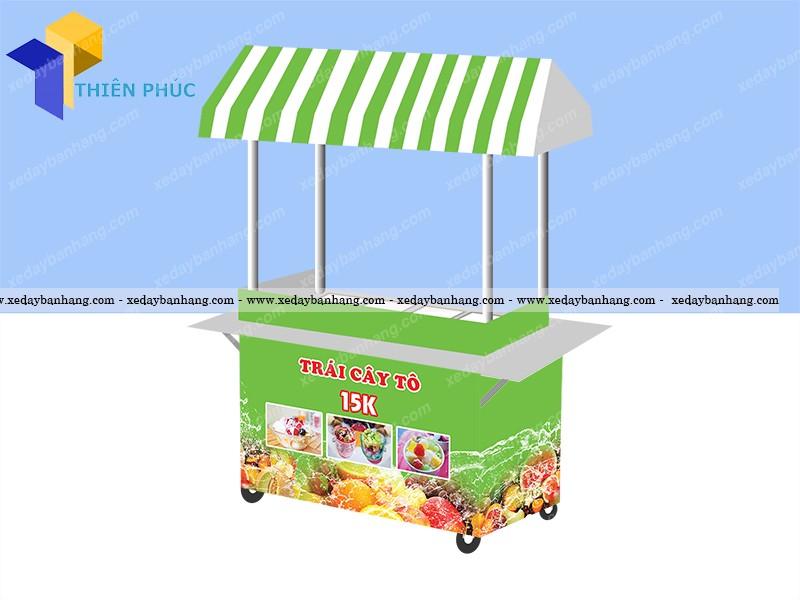 Mẫu xe bán trái cây tô giá rẻ 2016