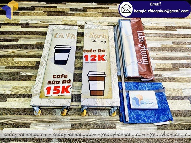 mẫu xe lắp ráp bán cà phê giá rẻ đẹp