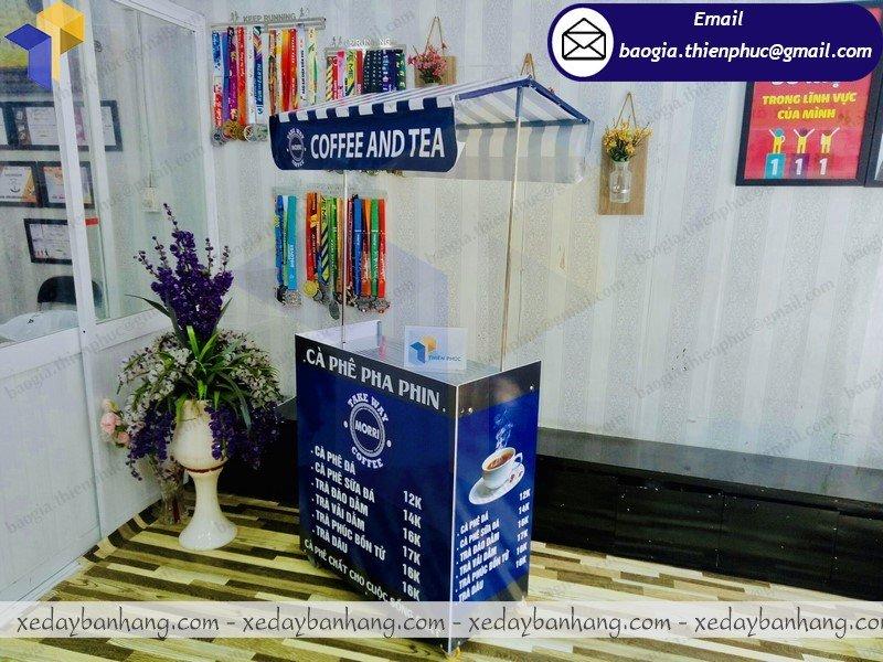 booth bán cafe pha phin lắp ráp giá rẻ