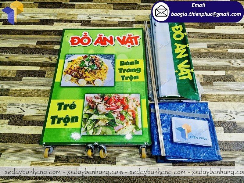 booth lắp ráp bán đồ ăn vặt giá rẻ