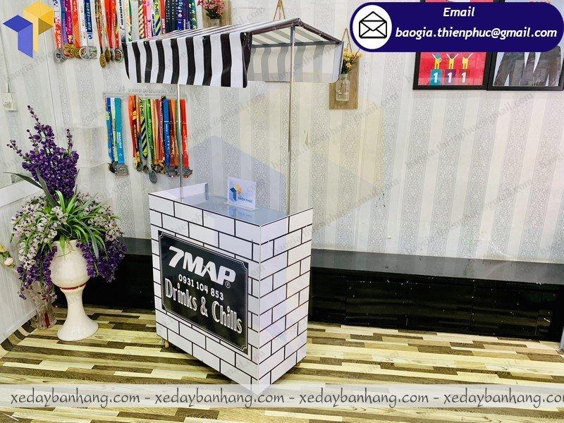booth lắp ráp bán cafe đen đá giá rẻ