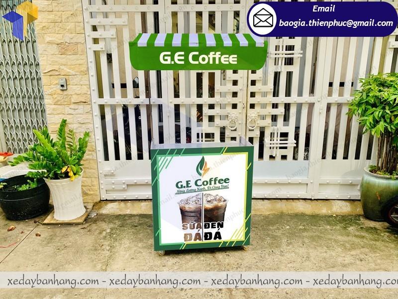 quầy bán cafe đen đá lắp ráp
