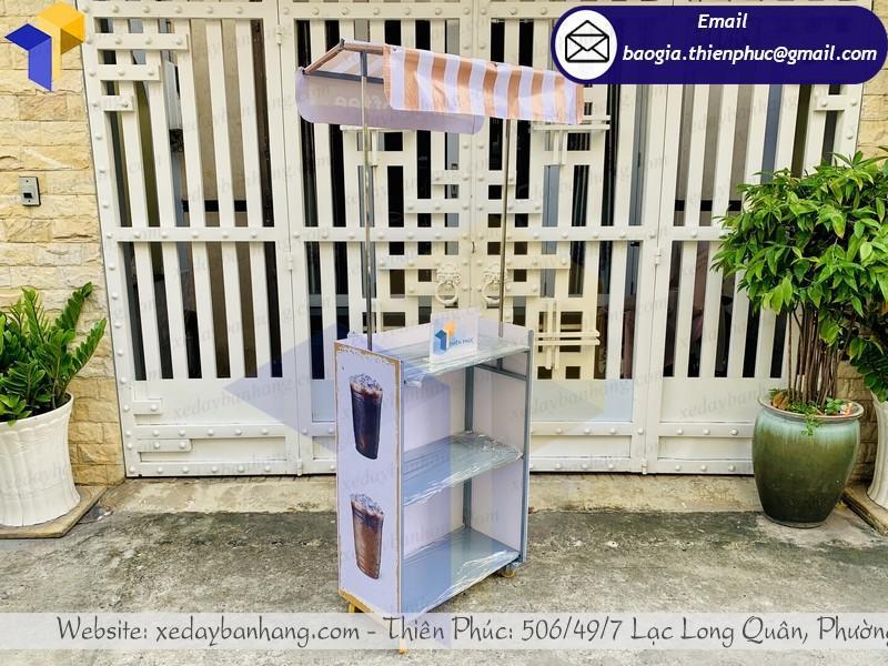 giá mẫu quầy xe bán cafe lắp ráp ngoài đường phố giá siêu rẻ