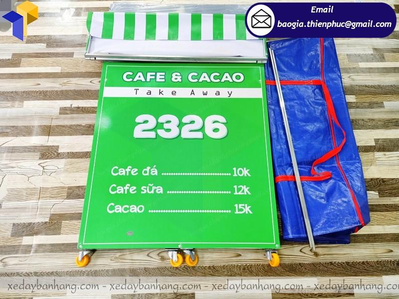 xe bán cafe take away lắp ráp cần thơ