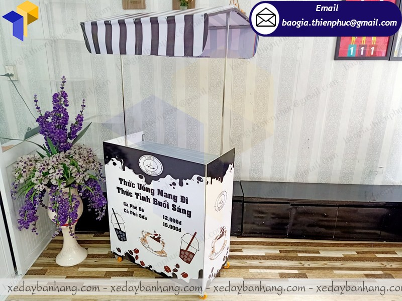 booth lắp ráp cafe take away giá rẻ ở phú quốc