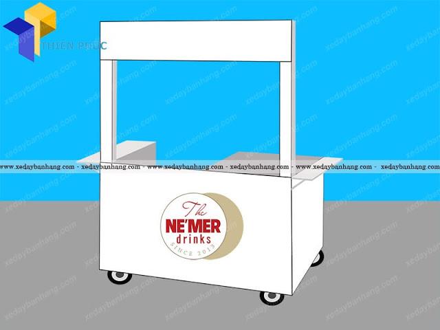 Nhận đóng xe lưu động bán trà sữa giá rẻ tại HCM