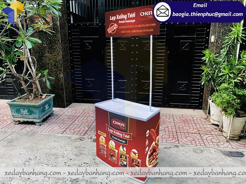 booth nhựa bán lạp xưởng giá rẻ