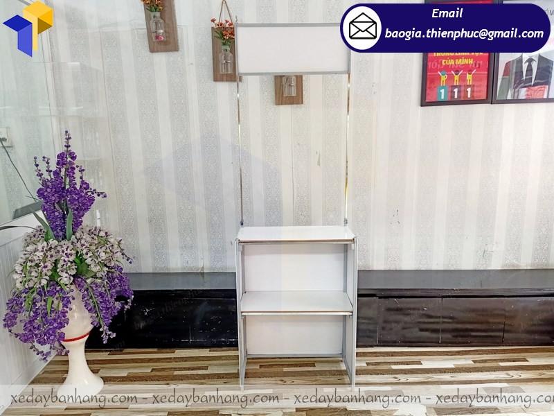booth sắt giá rẻ bán hàng an giang