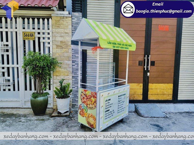 nơi bán tủ sắt bán đồ ăn di động