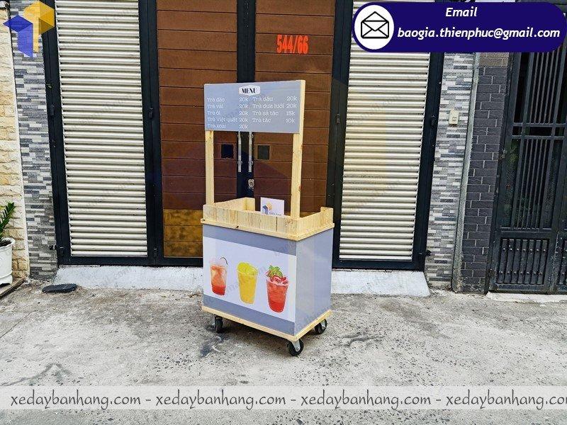nơi bán xe đẩy bán trà trái cây