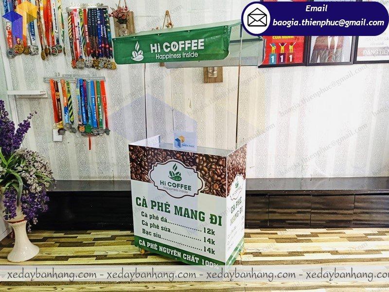 nơi bán xe lắp ráp bán cà phê