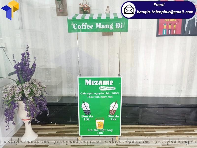 booth cafe lắp ráp mang đi  ở phú quốc
